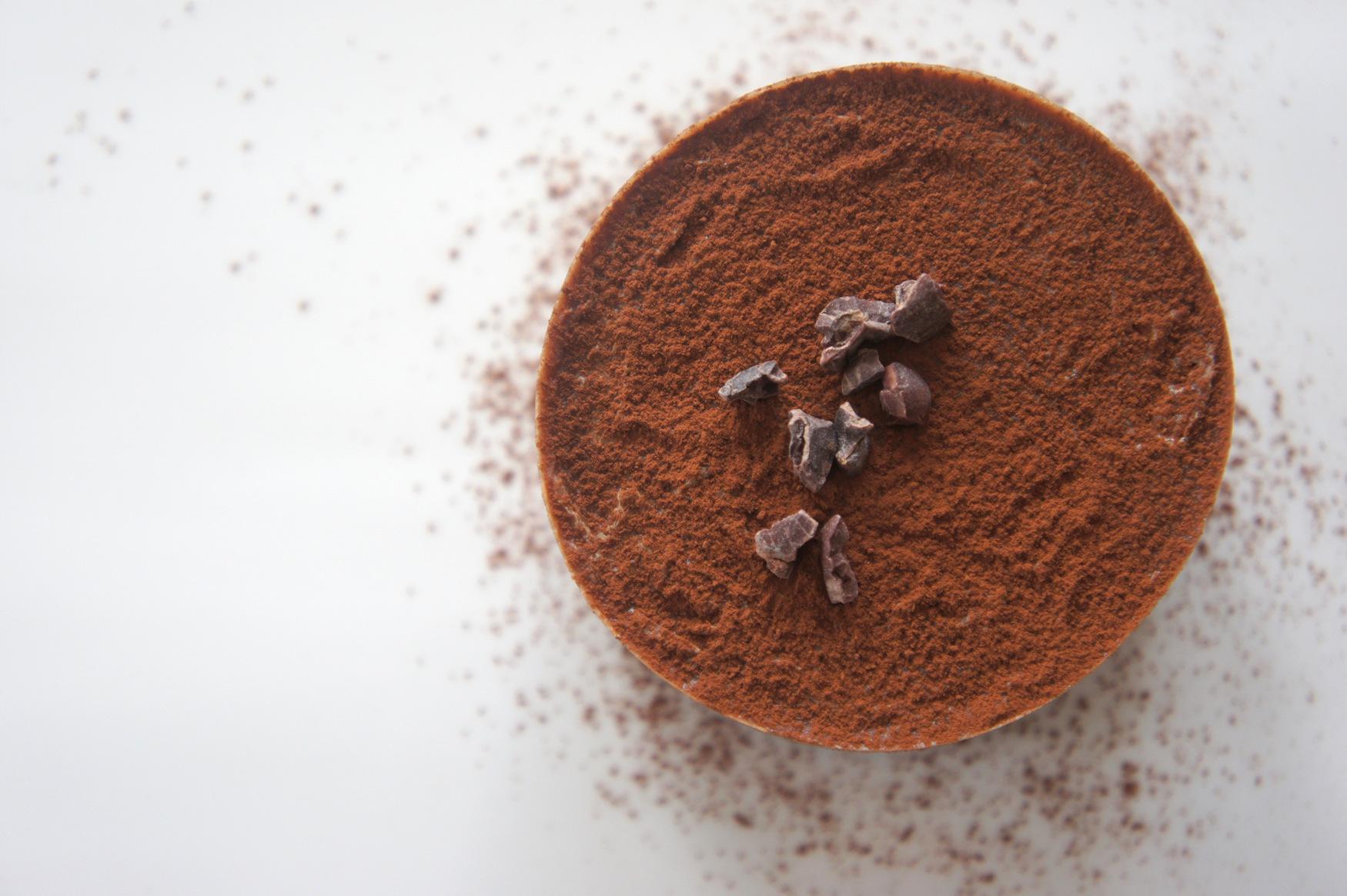 Verantwoorde chocolademousse