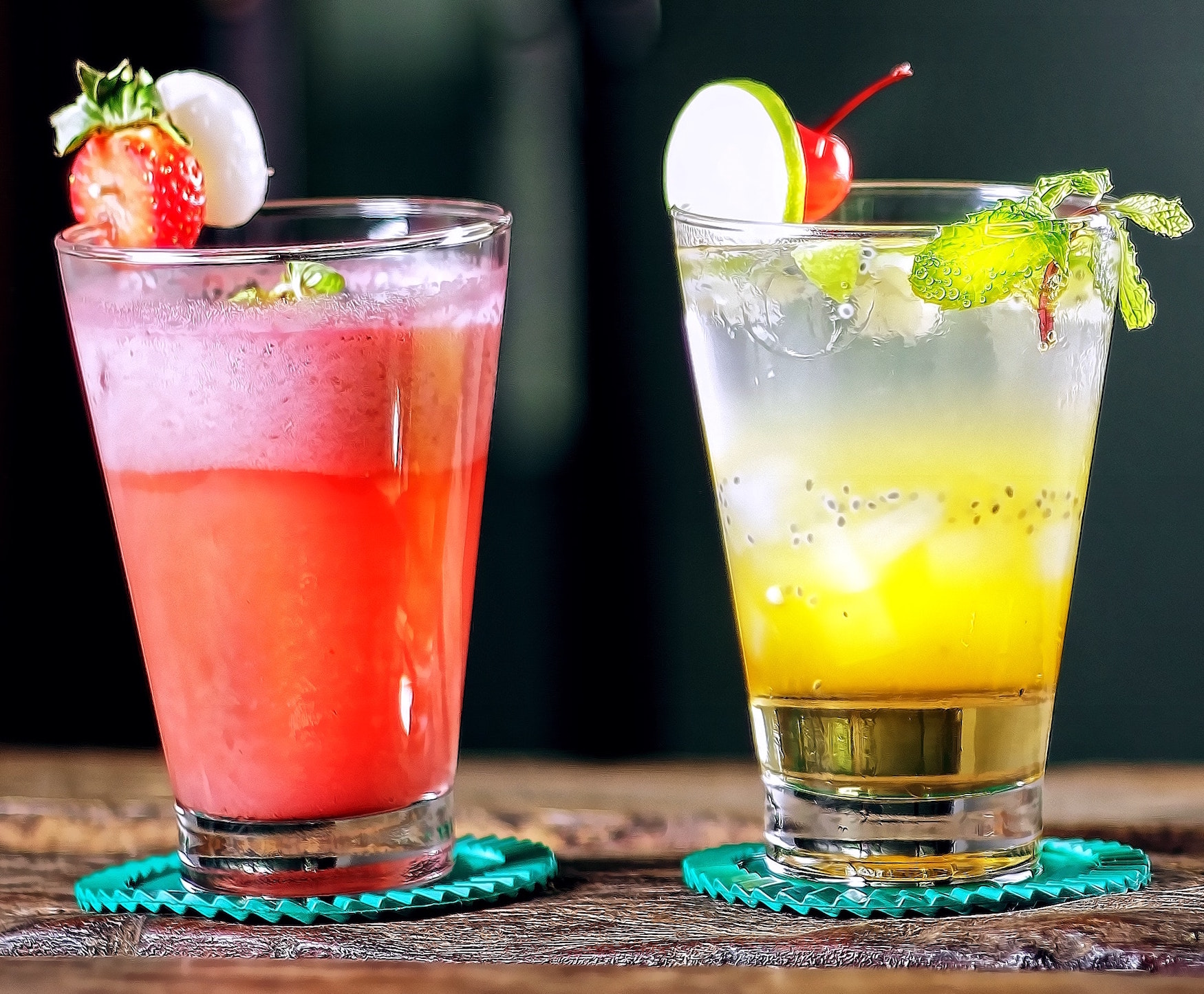 Drankjes met fruit