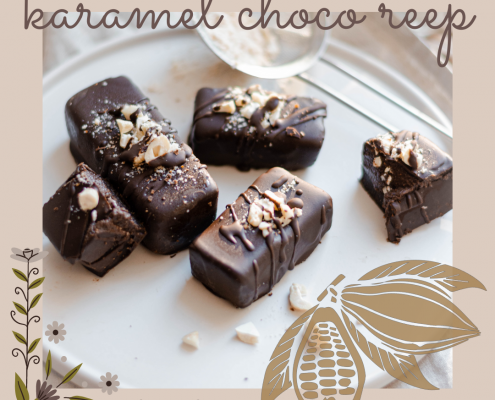 karamel choco reep